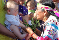GRANDMOTHER MARGARET GATHERING - MONTANA, USA - 2012