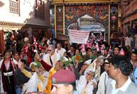 GRANDMOTHER AAMA - KATHMANDU, NEPAL - 2012